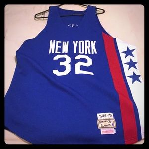 Mitchell and ness Dr. J New York jersey sz xl
